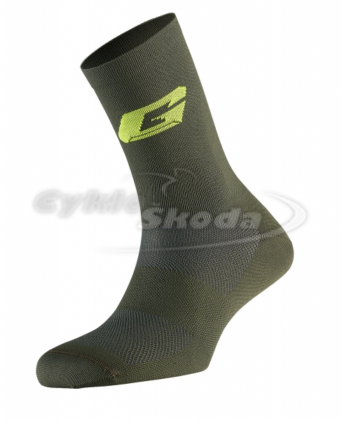 G.PROFESSIONAL LONG SOCKS FOREST GREEN - ponožky