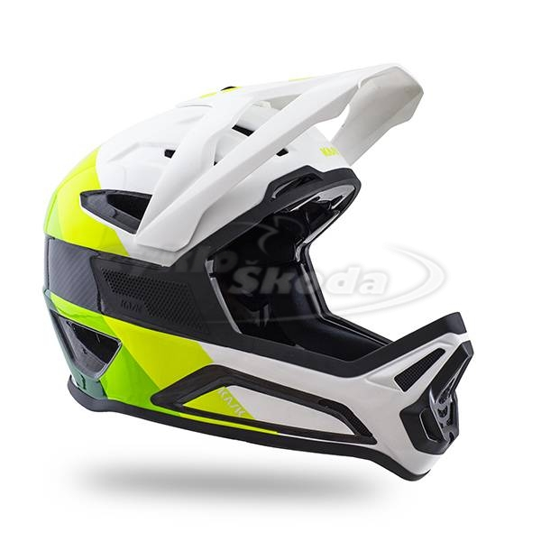 Downhill Helma Kask DEFENDER LIME