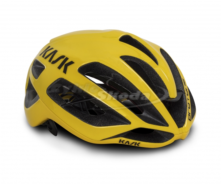Helma Kask PROTONE YELLOW SOLID COLOR