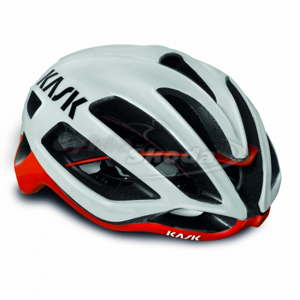 Helma Kask PROTONE WHITE-RED