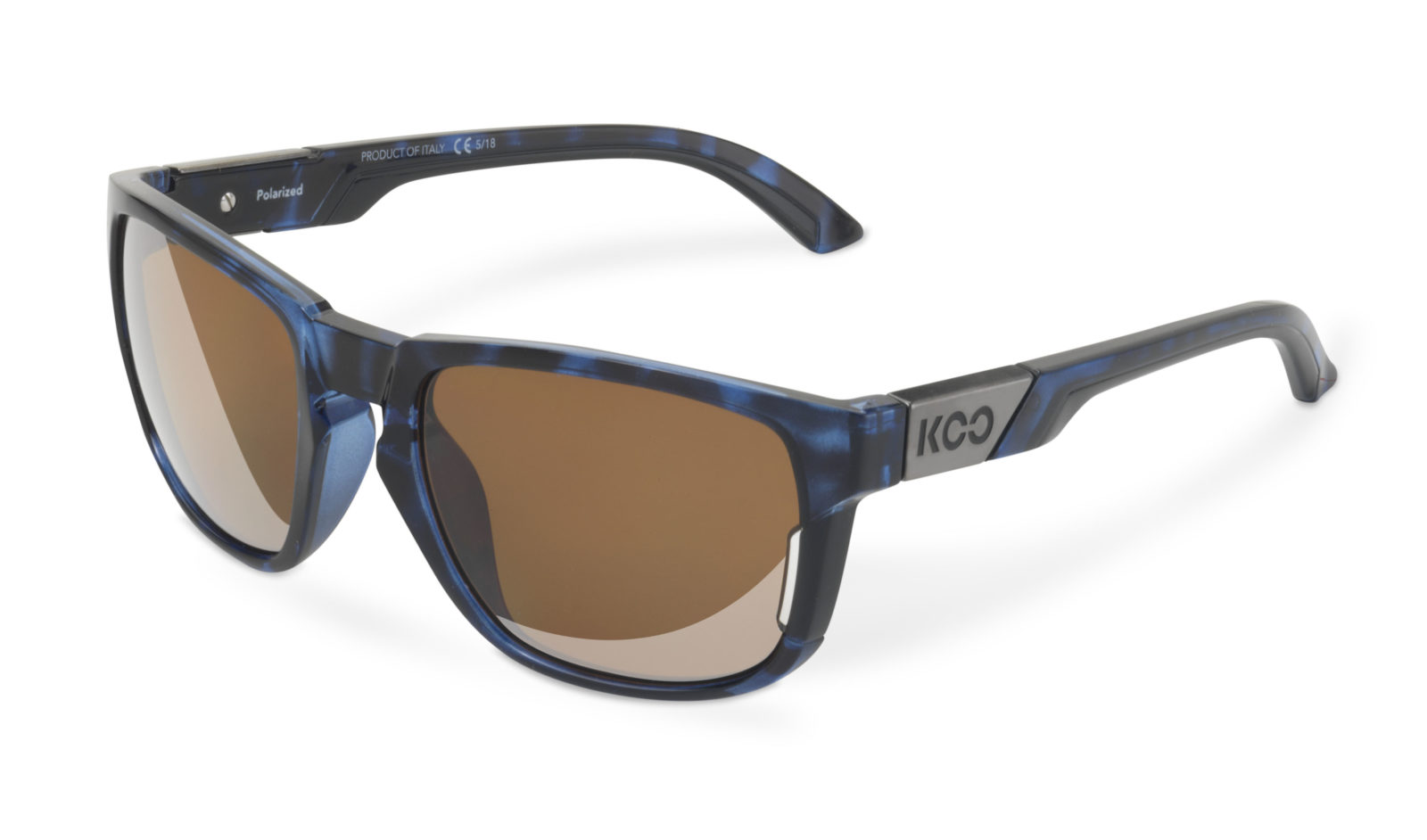 Brýle KOO CALIFORNIA TORTOISE BLUE polarized lenses