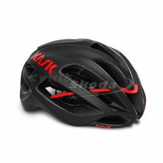 Helma Kask PROTONE BLACK MATT-RED