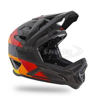 Downhill Helma Kask DEFENDER ORANGE