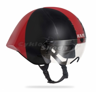 Helma Kask MISTRAL BLACK-RED