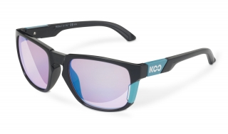 Brýle KOO CALIFORNIA BLACK LIGHT BLUE blue mirror lenses