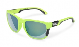 Brýle KOO CALIFORNIA LIME BLACK deep green lenses