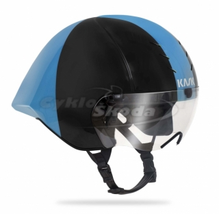 Helma Kask MISTRAL BLACK-LIGHT BLUE